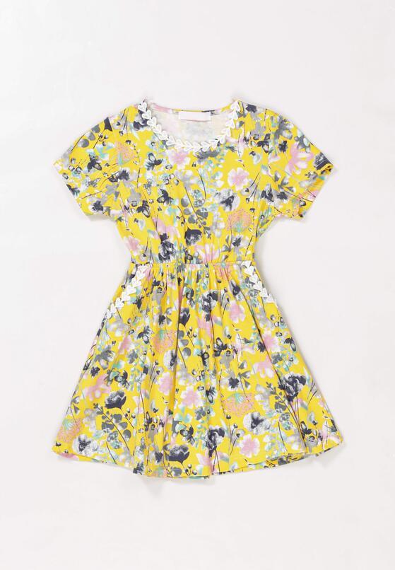 Żółta Sukienka Sireirinia