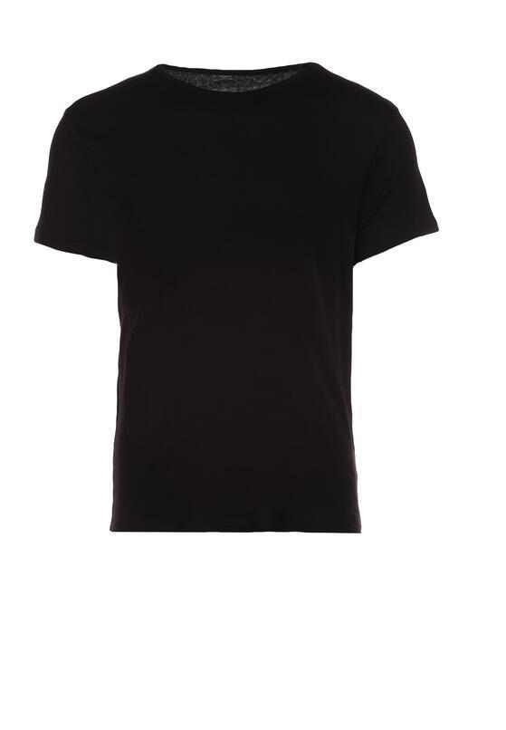 Czarna Koszulka Leuthoe
