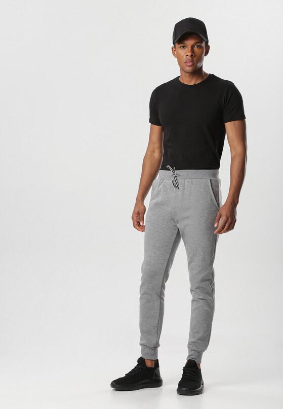 Jasnoszare Spodnie Dorisesis