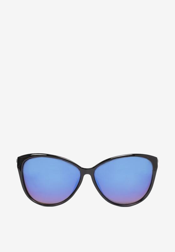 Czarno-Niebieskie Okulary Dorielise