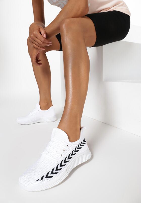 Białe Buty Sportowe Palareanes