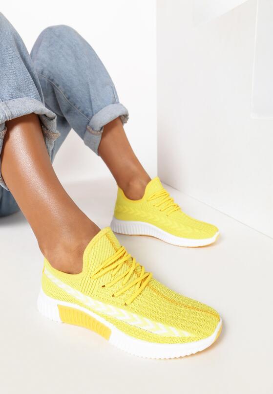 Żółte Buty Sportowe Palareanes