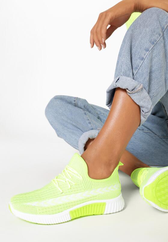 Limonkowe Buty Sportowe Palareanes