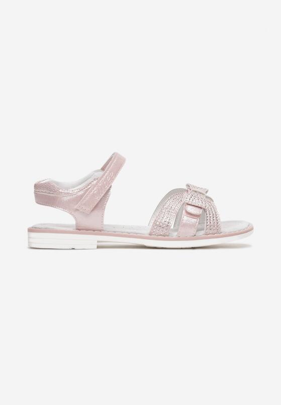 Różowe Sandały Dananise