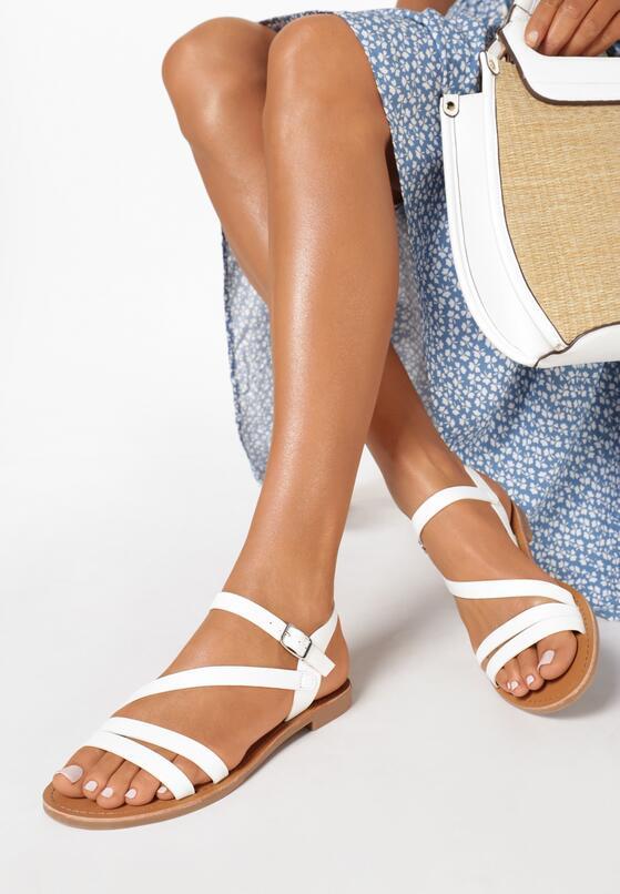 Białe Sandały Myssa