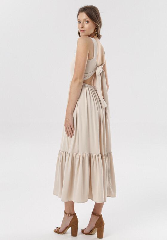 Beżowa Sukienka Mayashell