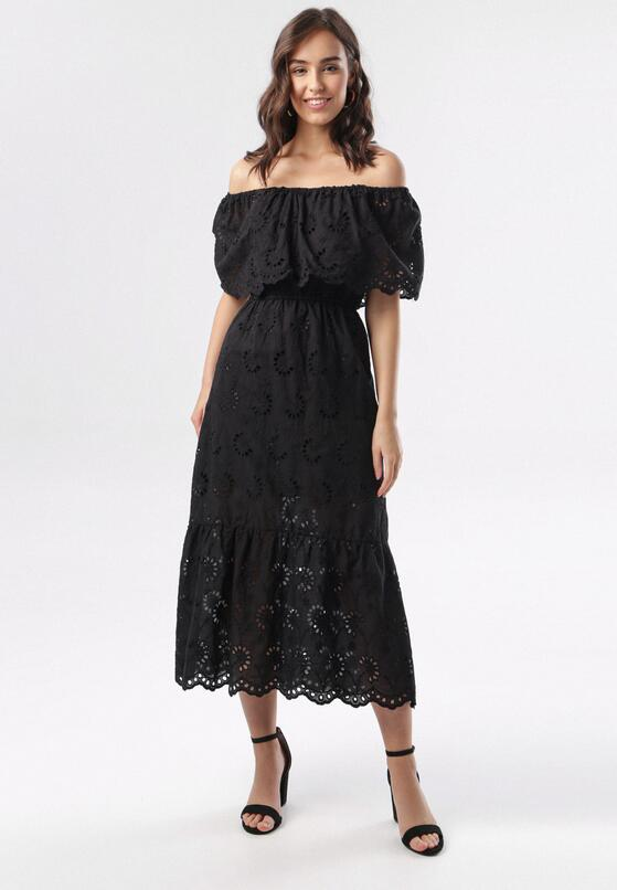 Czarna Sukienka Brithia