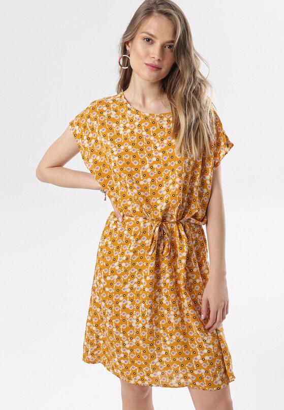 Camelowa Sukienka Calynope