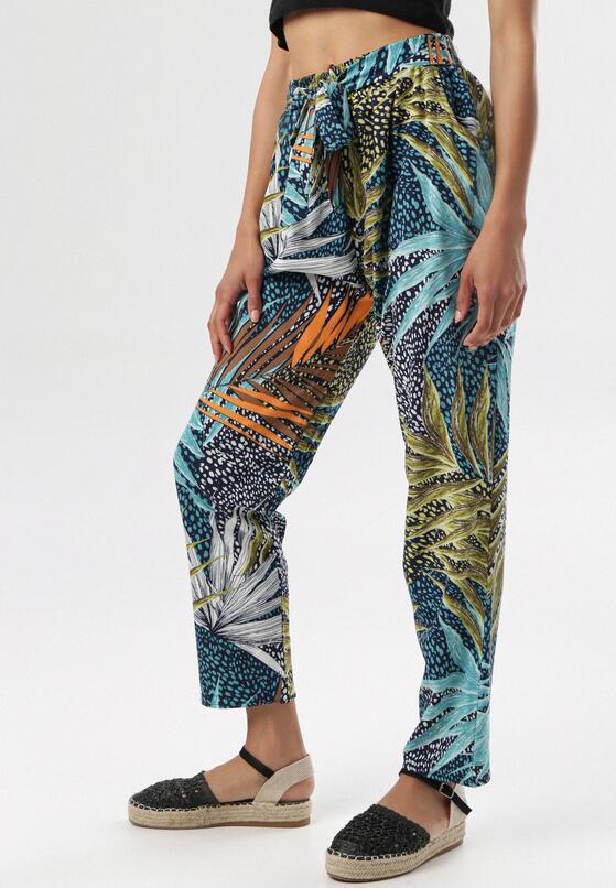 Miętowe Spodnie Arirena