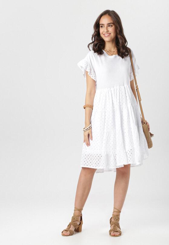 Biała Sukienka Maileora