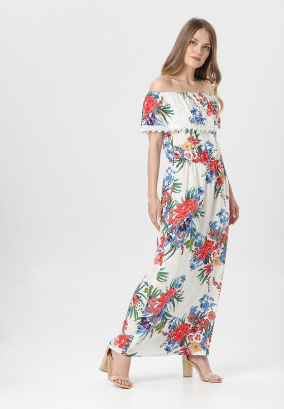 Biała Sukienka Aglaris