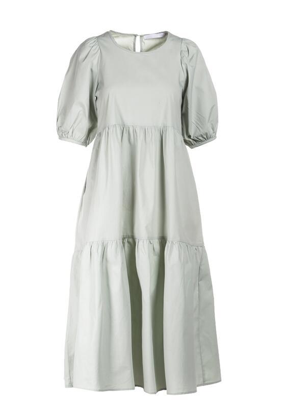 Miętowa Sukienka Sonali