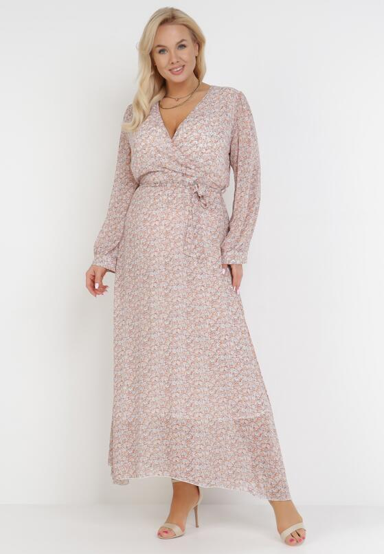 Łososiowa Sukienka Doryrianne