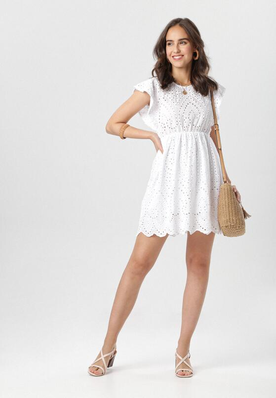Biała Sukienka Talilena