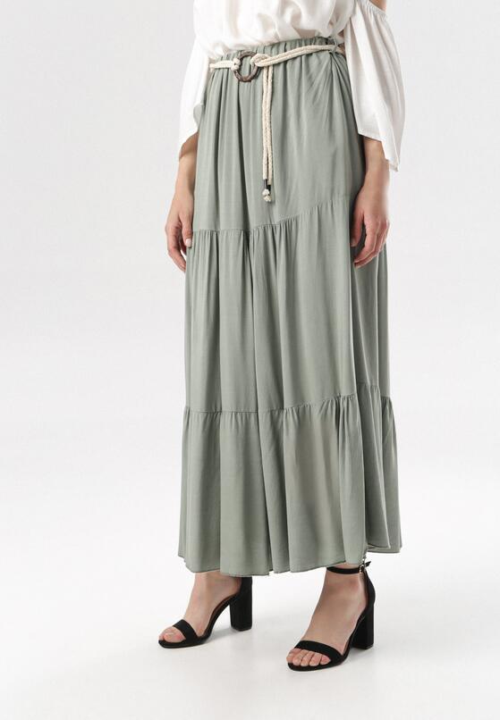 Ciemnozielona Spódnica Murielyn