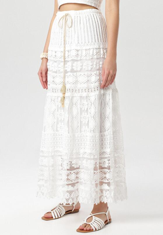 Biała Spódnica Adrasine