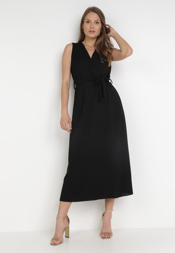 Czarna Sukienka Ocearith