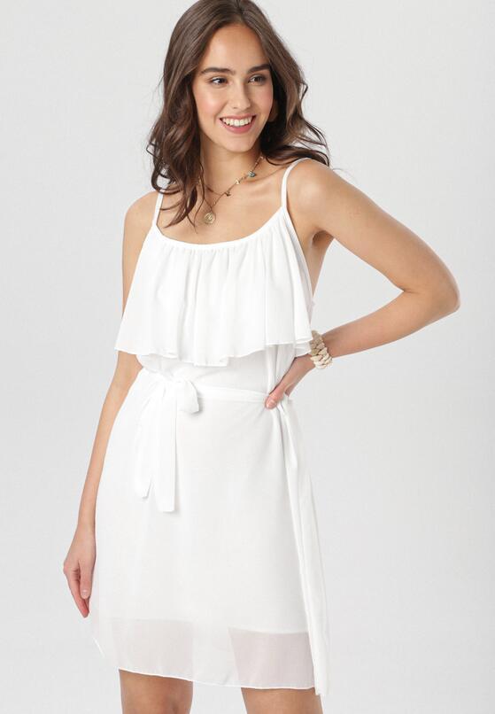 Biała Sukienka Dorysa