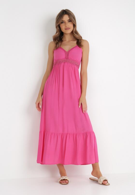 Fuksjowa Sukienka Criathyia