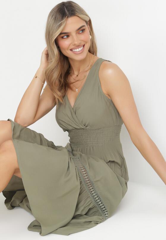 Zielona Sukienka Rhenemisa