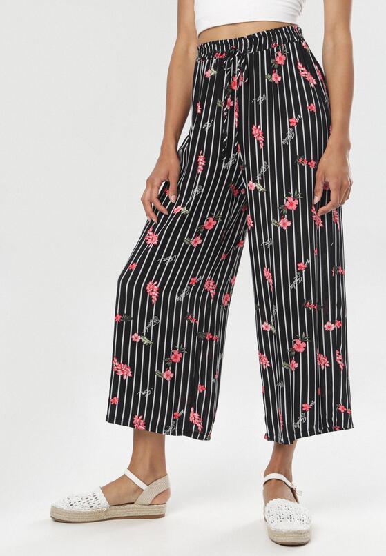 Czarne Spodnie Doreaneva