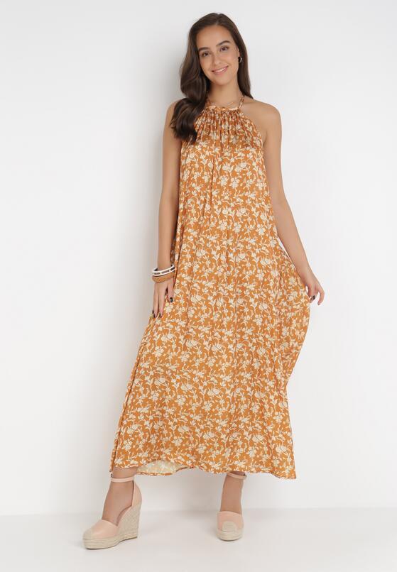 Żółta Sukienka Corraleh