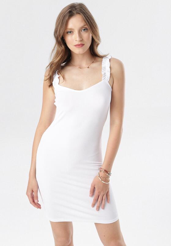 Biała Sukienka Zhasura