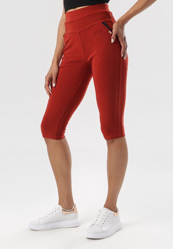 Bordowe Spodnie Olepheme