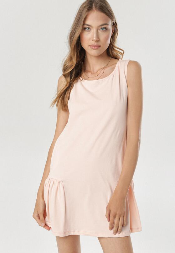 Jasnoróżowa Sukienka Zeliphaeia