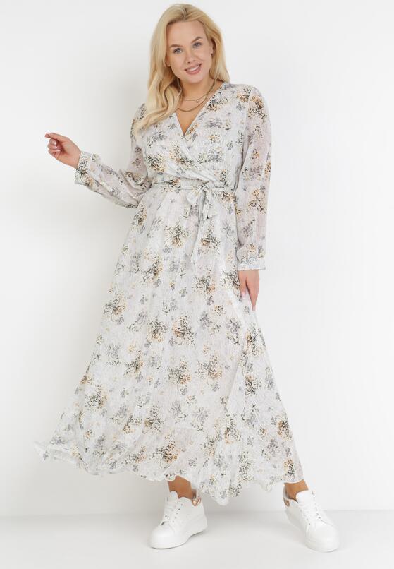 Jasnoszara Sukienka Doryrianne