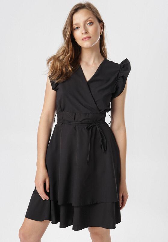 Czarna Sukienka Ermenegilda