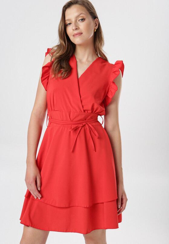 Czerwona Sukienka Ermenegilda