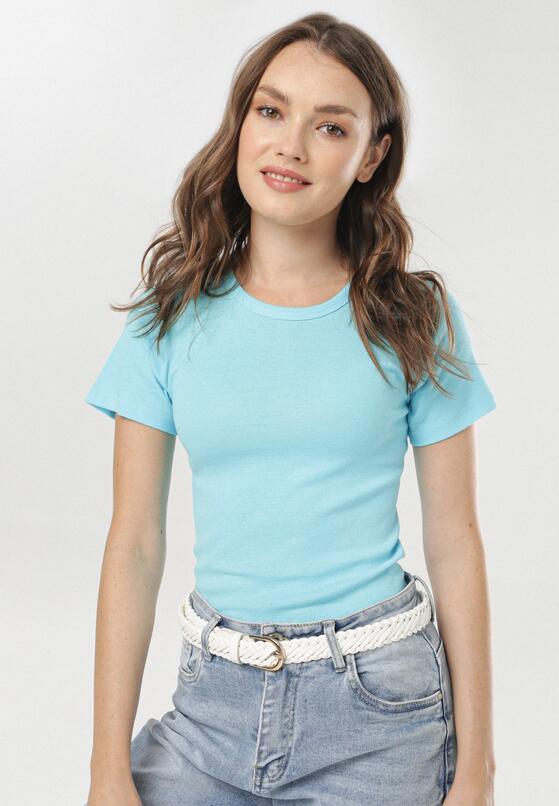 Niebieski T-shirt Phereisis