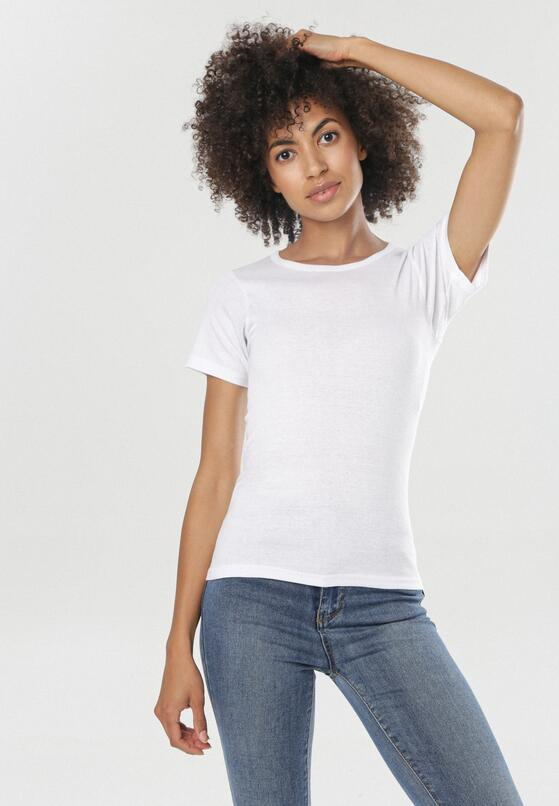 Biały T-shirt Phereisis