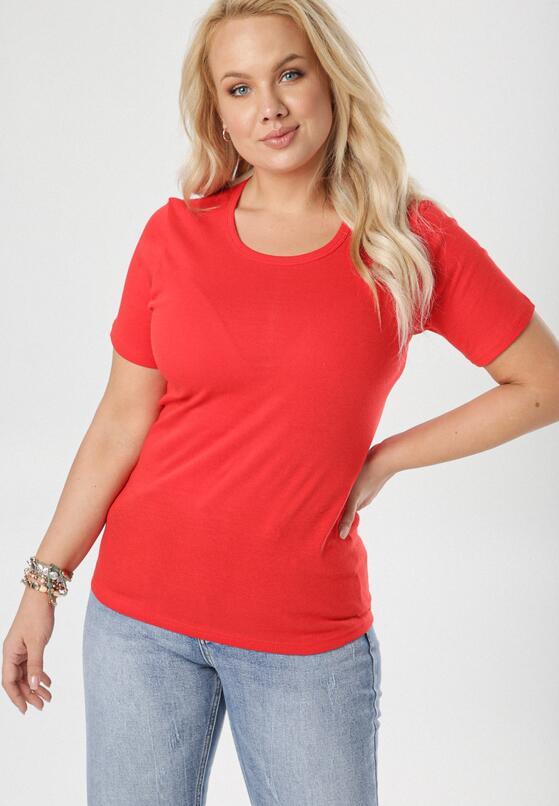 Czerwony T-shirt Ephesine