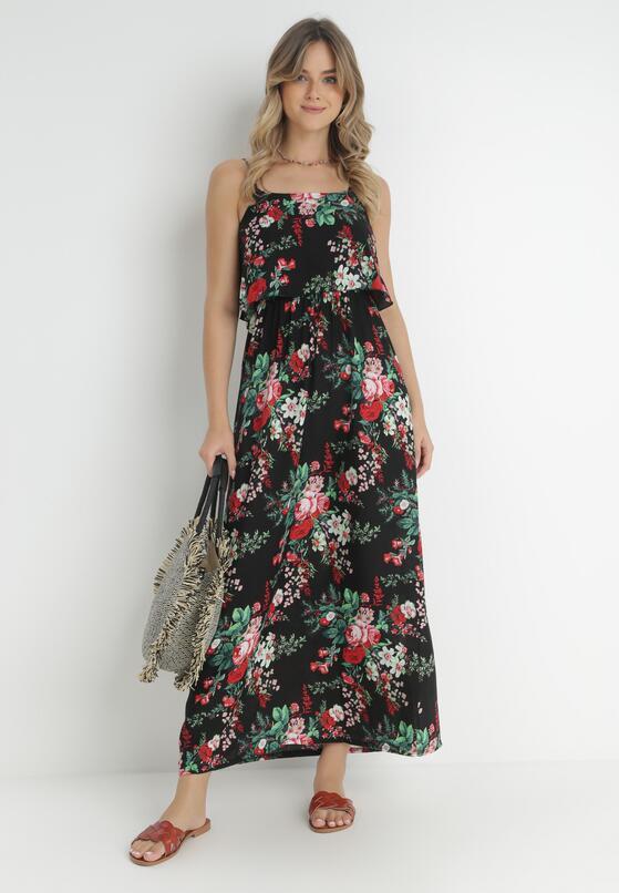 Czarna Sukienka Sylinore