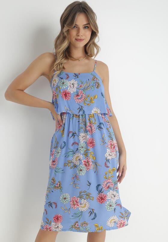 Niebieska Sukienka Pheriye