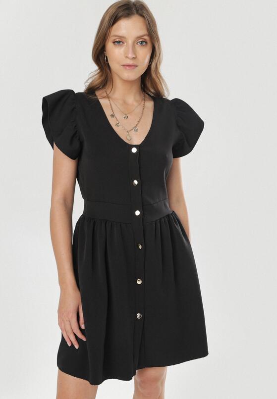 Czarna Sukienka Aethea
