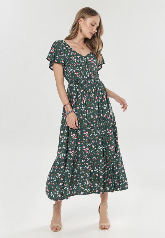 Zielona Sukienka Nerirena