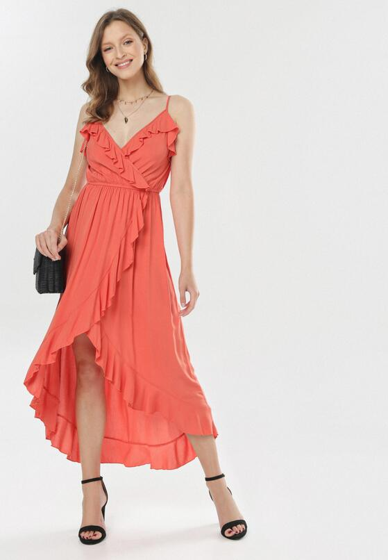 Koralowa Sukienka Canorous