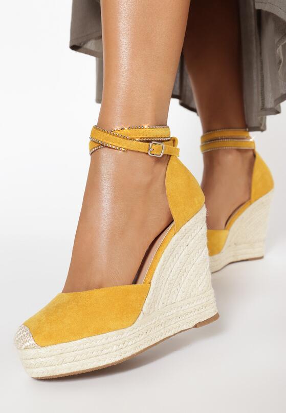 Żółte Sandały Neamerise