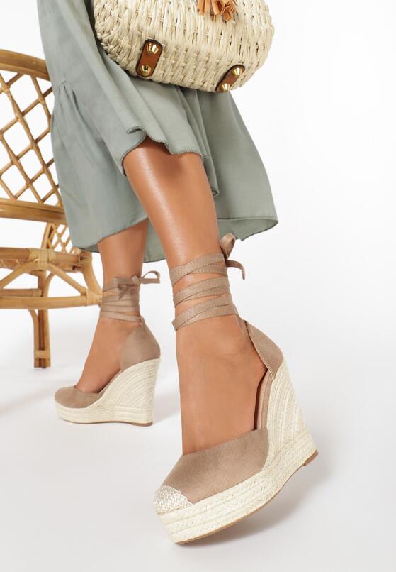 Beżowe Sandały Neamerise
