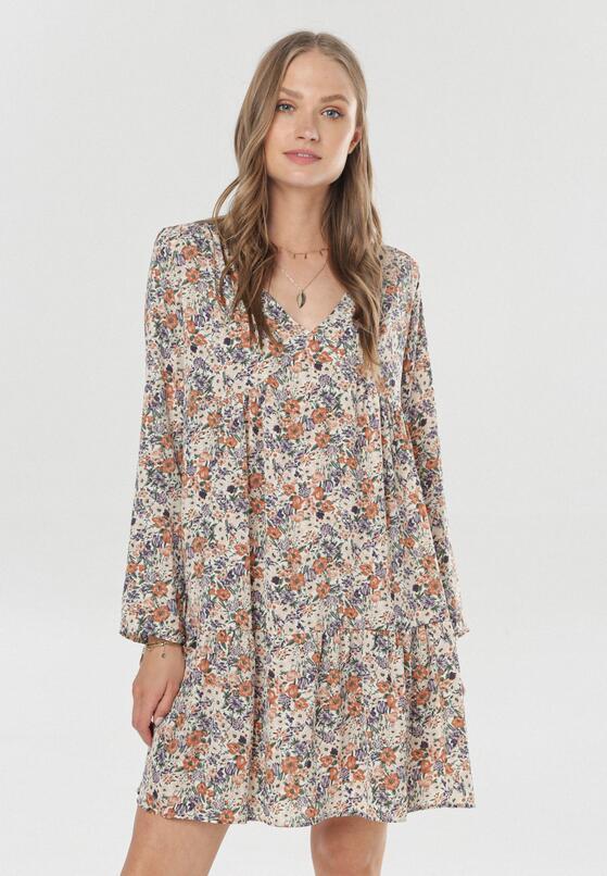 Kremowa Sukienka Loraemora