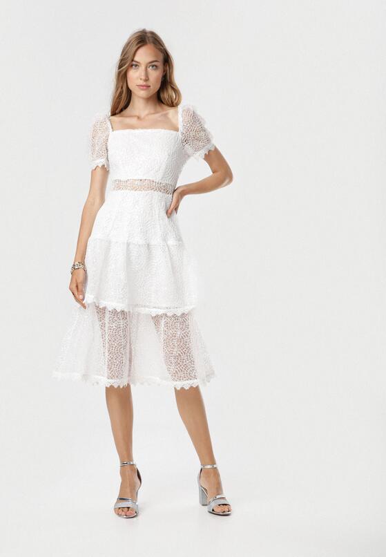 Biała Sukienka Limothilei