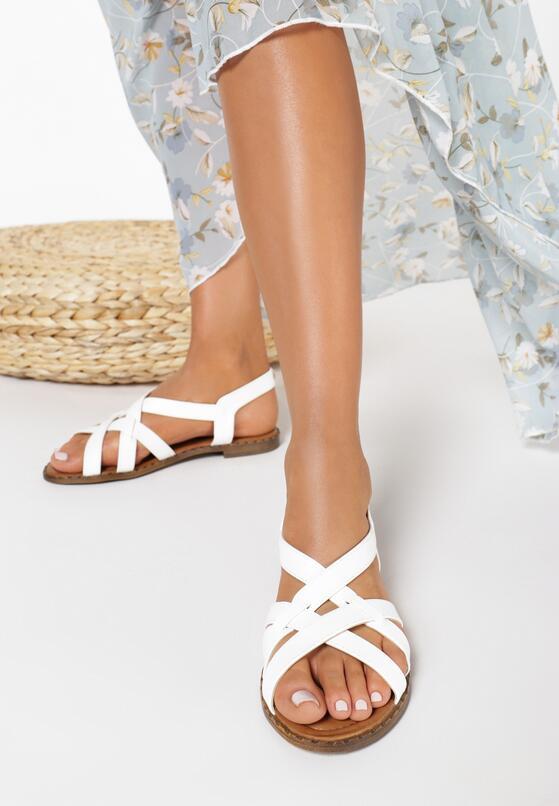 Białe Sandały Fontarian