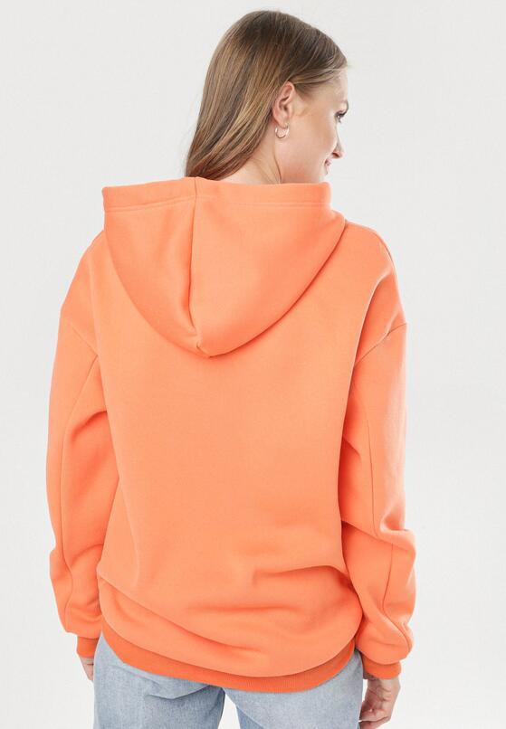 Pomarańczowa Bluza Adravia