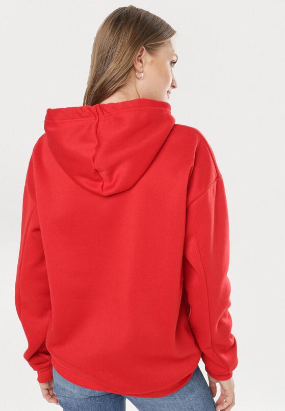 Czerwona Bluza Adravia
