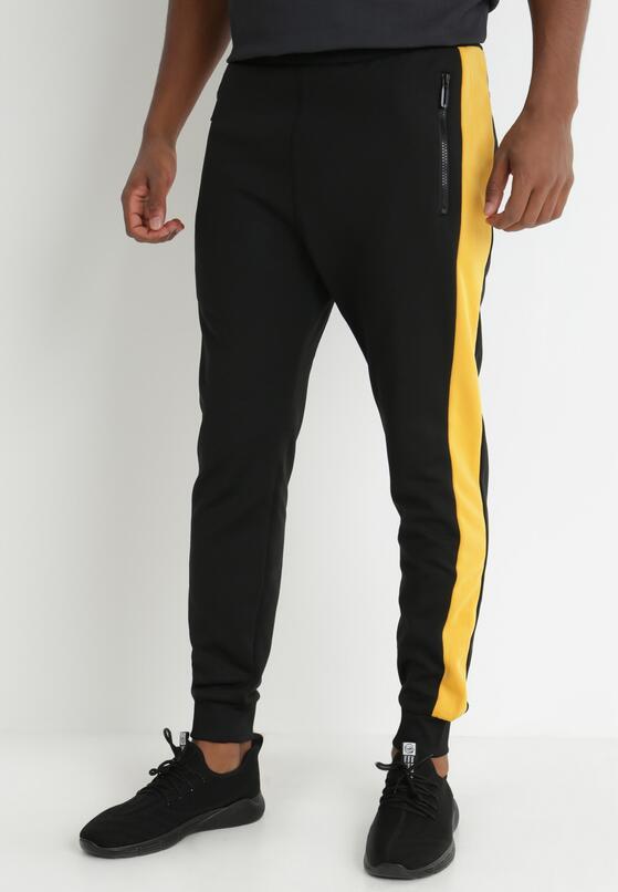 Czarno-Żółte Spodnie Clysiphe