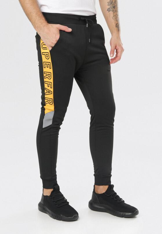 Czarne Spodnie Corraeciane