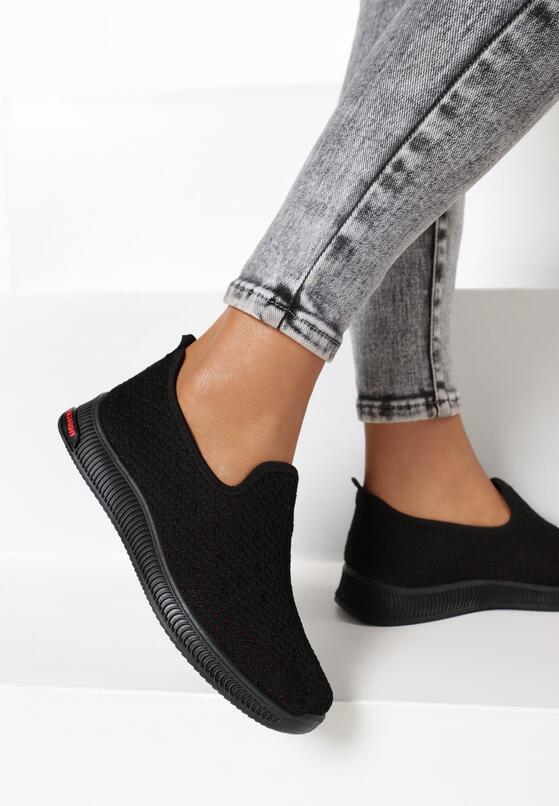 Czarne Buty Sportowe Palasise